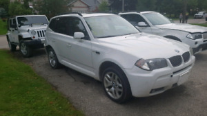 Parting out 2006 BMW x3 white