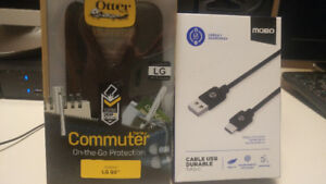 LG G5 otterbox and type C cable