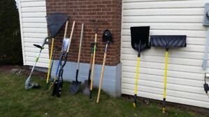 GARDENING,LAWN AND LANDSCAPING TOOLS + ELECTRIC  GRASS TRIMMER