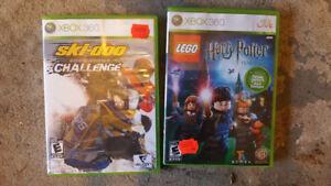XBOX360 LIVE HARRY POTTER LEGO AND SKI-DOO CHALLENGE