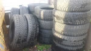 good used tires  various sizes