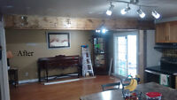 Handyman Services, Home Renovations, Competitive Pricing.
