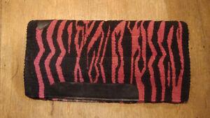 Pink Wool Saddle Pad