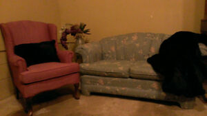 love seat with matching couch Windsor Region Ontario image 1