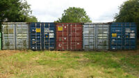 Steel Storage Containers - Sea Containers