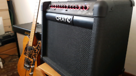 Crate GLX65 65 watt 1x12 combo guitar amp with 16 onboard DSP effects trade swap