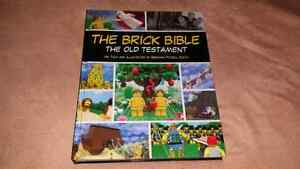 For sale, the brick bible Lego book.