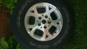 Jeep rim and tire,Brand New