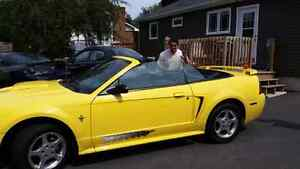 Mustang deluxe convertable