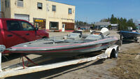 bass boat project for sale