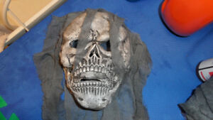 Zombie Skull mask costume -one size fits all