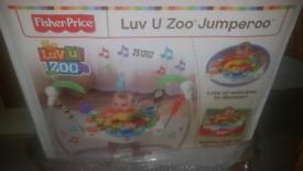 Jumpero luv u zoo fisher price