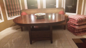 Mission Style 48in. Round Table
