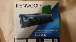 kenwood deck,LNIB, with remote
