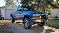 1998 Ford ranger 4x4 tons of work done sounds great