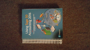 Using Sage 50 Accounting 2016 CD Included