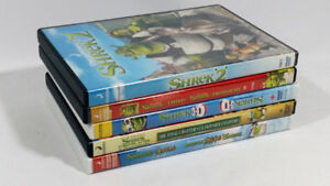 Shrek DVD Bundle Collection DVD in Great Shape Previously Owned