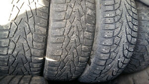 WINTER TIRES  195 /65 /r 15   (SET OF 4TIRES 120)
