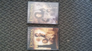 LORD OF THE RINGS TWO TOWERS AND RETURN OF THE KINGS