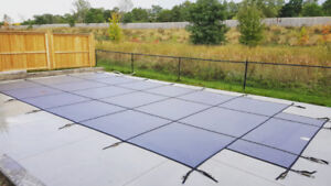 FREE pool closing with safety cover install!