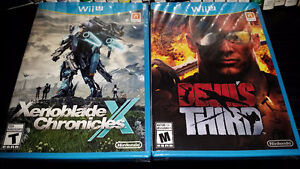 Wii U games - Devil's Third and Xenoblade Chronicles X (New)