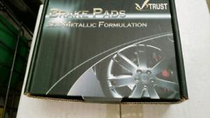 Brake pad and rotors for Hyundai Sonata.