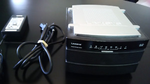 Linksys NAS-200 2 HDD network storage