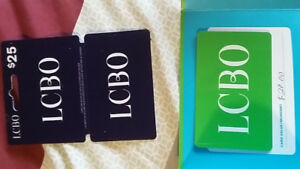 2 LCBO Giftcards FOR $45.00