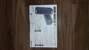 Sony SRS-XB30 Wireless Bluetooth Speaker NEW UNOPENED!