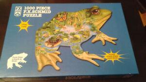 Frog Puzzle - 1000 pieces