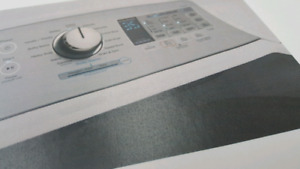 New GE 5.8 Cubit Ft. White Top Load washer