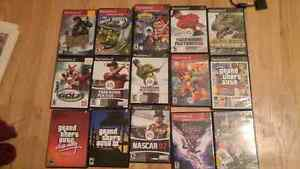 2 Ps2 systems with games