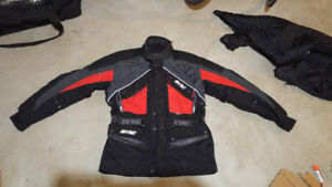 Rhyno large red motorcycle jacket