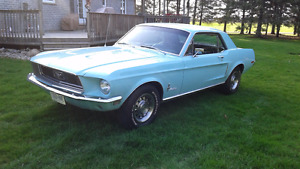 1968 Mustang Coupe