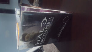 Halo book, hard covered copy