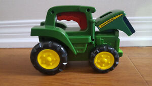 John Deere Tractor Flashlight Toy