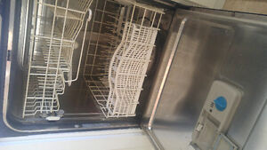 Dishwasher, stove, double oven with ceramic top