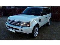 LHD 2008 Land Rover Range Rover Sport 3.6TD V8 auto HSE LEFT HAND DRIVE