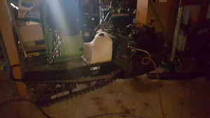1999 zr440  with 800 triple engine project