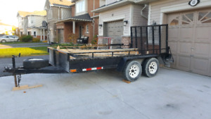 6x12 flat bed trailer