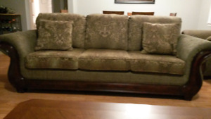 Beautiful Sofa/Couch and Chair Set