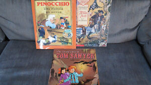 3 kids books(2 comic book like)