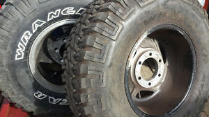 American Racing AR-39 Rims and tires balance and mounted