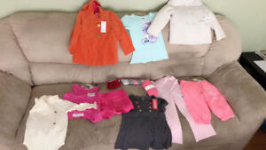 brand new girl 2t-4t clothing