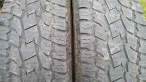 "20"" All Terrain tires TOYO Open Country P275/60R20 DODGE RAM"
