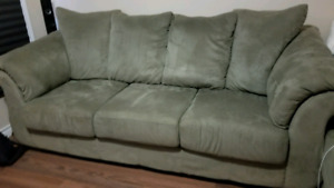 Coach  $85 and love seat $65