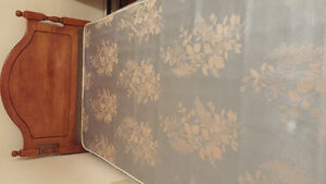 Bed and boxspring for sale