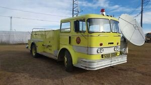 Antique Fire Truck- 1963 Ford- up for bid