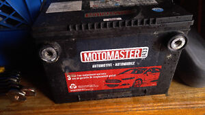 1 yr old GM side post car battery