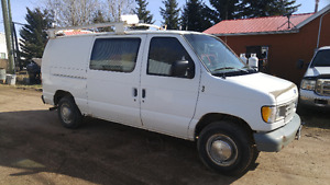 1995 Ford E-250 Van With boiler pressure washer